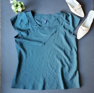 💍Banana Republic Green Blouse